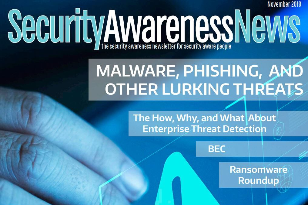 Malware, Phishing, and Other Lurking Threats